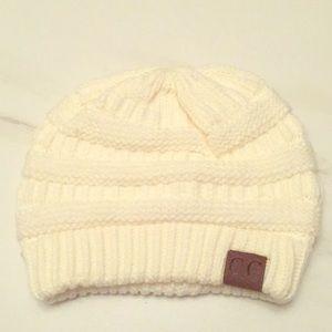 White C.C hat